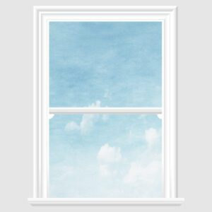 cloudy sky decorative window film