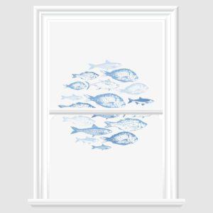 Fish Decorative Window Film